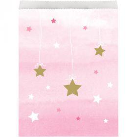 One Little Star - Girl Paper Treat Bags pk10