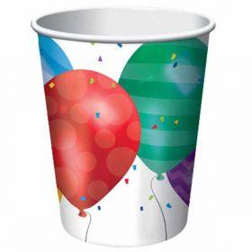 Balloon Blast cups pk8