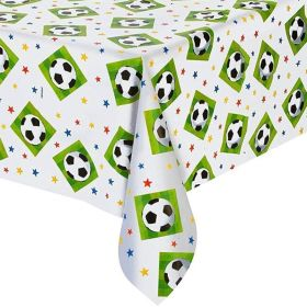 Championship Soccer Plastic Tablecover 1.37m x 2.6m