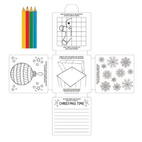 Christmas Activity Pack with pencils