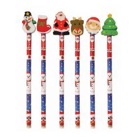 Christmas Pencils & Eraser