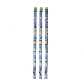 Joyful Snowman Christmas Pencils