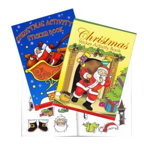 Christmas Sticker and Activity Book