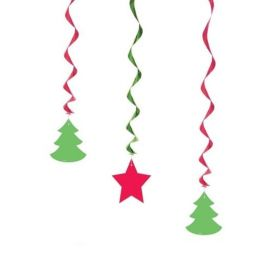 Christmas Trees Hanging Decoration 26""