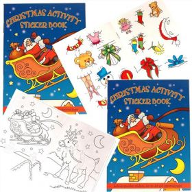 Christmas Sticker & Activity Book