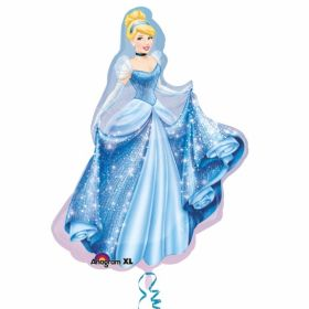 Cinderella Sparkle SuperShape Foil Party Balloon