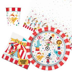 Circus Carnival Party Tableware Packs