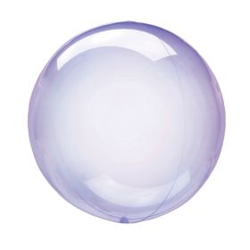 Clearz Purple Balloons