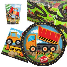 Construction Party Tableware Pack