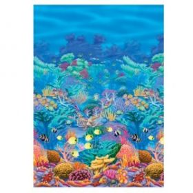 Underwater Friends Coral Reef Room Scene Setter