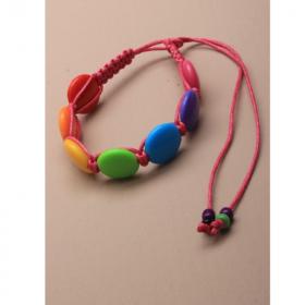 Coloured Corded Girls Friendship Bracelet