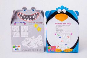 Shark & Penguin Party Food Boxes pk2