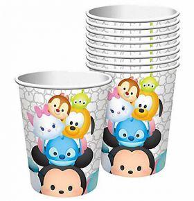 Tsum Tsum Plastic Cups pk8