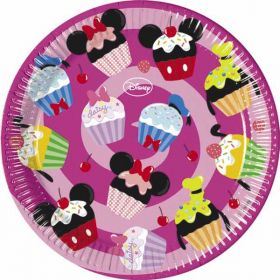 Disney D-Lish Party Plates pk8 23cm