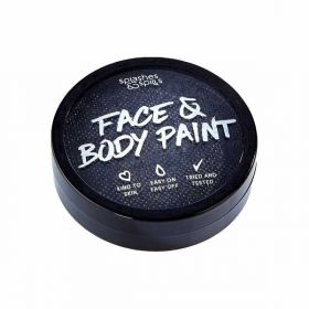 Black Face and Body Paint