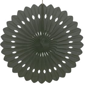 Decorative Fan Black Party Decoration 16""