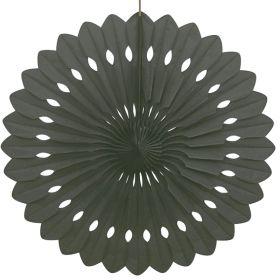 """Decorative Fan Black Party Decoration 16"""""""