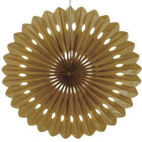 Decorative Fan Gold Party Decoration