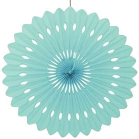 Decorative Fan Mint Party Decoration 16""