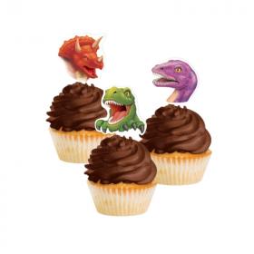 Dino Blast Cupcake Toppers