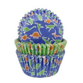 Dino Party Cupcake Cases, pk75