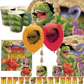 Dino Blast Ultimate Party Kit for 8