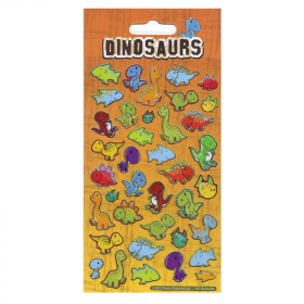 Dinosaurs Foil Stickers