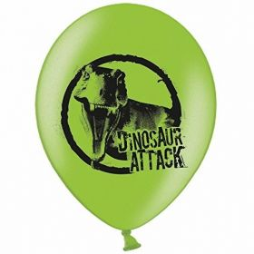Dinosaur Attack Latex Balloons pk6