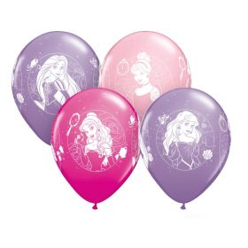 "Disney Princess Party Latex Balloons 12"", pk6"
