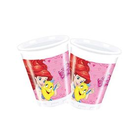 Disney Princess Party Cups 200ml, pk8