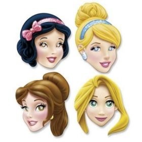Disney Princess Paper Masks