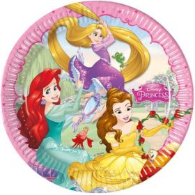 Disney Princess Party Plates 23cm, pk8