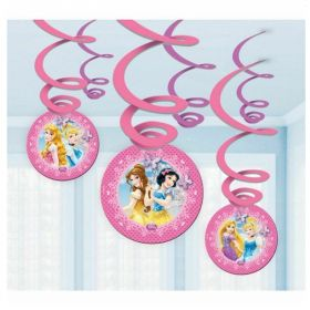 Princess Swirl Decorations