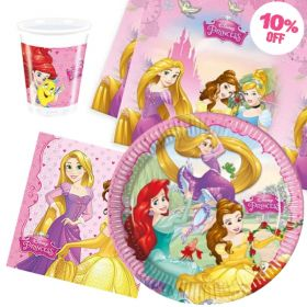Disney Princess Party Tableware Pack for 8
