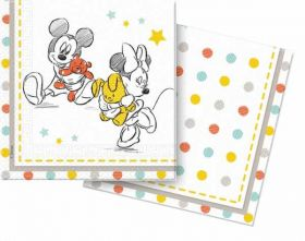 Disney Baby Shower Napkins, pk20