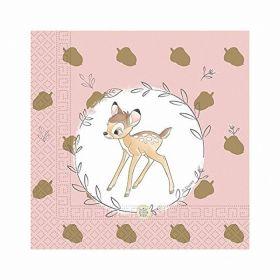 Disney Bambi Cutie Napkins 33cm x 33cm, pk20