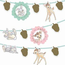 Disney Bambi Cutie Paper Garland Kit 2m
