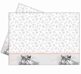 Disney Bambi Cutie Plastic Tablecover 1.2m x 1.8m