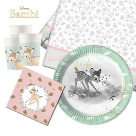 Disney Bambi Cutie Tableware Pack for 8