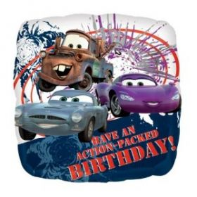 Disney Cars Action Packed Birthday Foil Balloon 17''