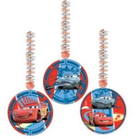 Disney Cars Hanging Cutouts 1.2m pk3