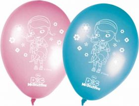Doc McStuffins Latex Party Balloons pk8