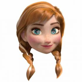 Disney frozen Anna Mask