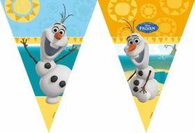 Frozen Olaf Summer Plastic Flag Banner 1.7m