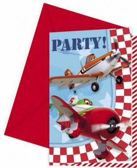 Disney Planes Party Invitations pk6