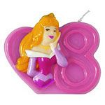 Disneys Princess Party Candle No.8