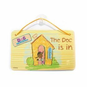 Doc McStuffins Card Party Door Signs pk6