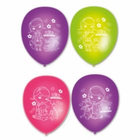 Doc McStuffins Character Story Latex Balloons pk6