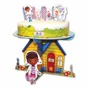 Doc McStuffins Clinic Cake Decoration