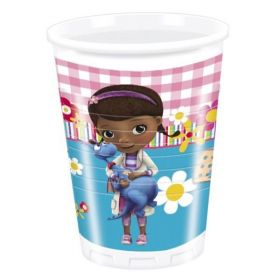 Doc McStuffins Party Plastic Cups pk8